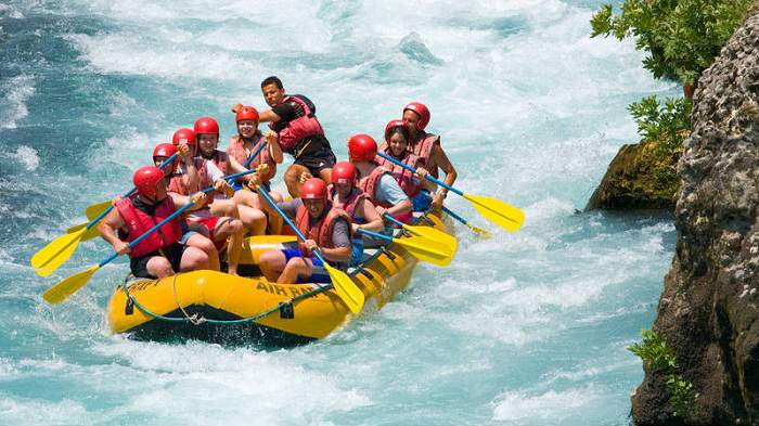River Rafting in Corbett National Park